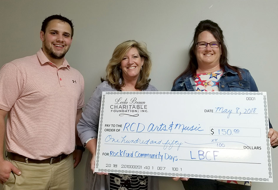 Rockford Community Days Art and Music Festival Donation